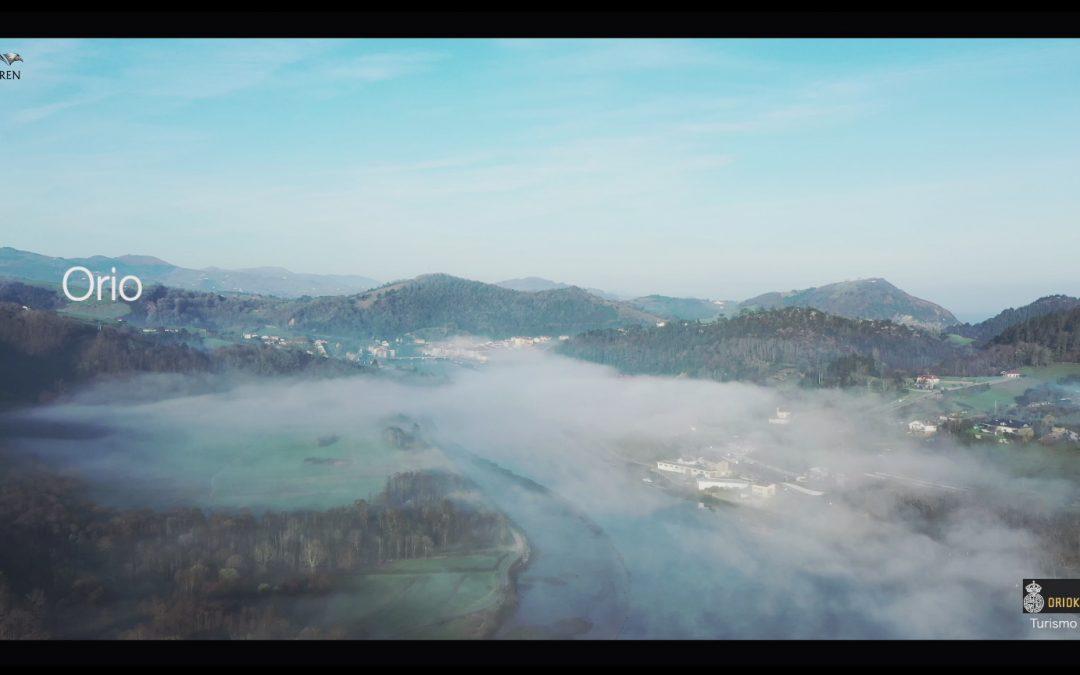Video realizado con Drone para la oficina de turismo del Ayuntamiento de Orio